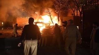 Pakistan'da patlama! 4 kişi öldü, 12 kişi yaralandı