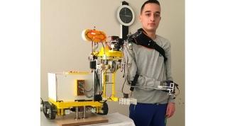 Robot kolla dünya birincisi oldu
