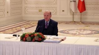 Başkan Erdoğan bu sözlerle duyurdu: Yeni normalleşme...