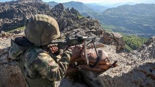 Irak'ın kuzeyinde 5 terörist daha etkisiz hale getirildi