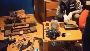 Evini kaçak silah atölyesine çeviren şüpheli tutuklandı