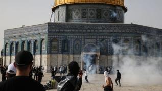 İşgalci İsrail'in Mescid-i Aksa zulmü