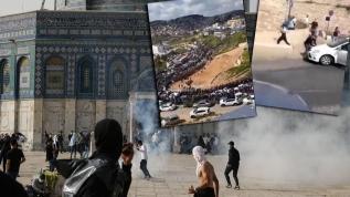 Kudüs'te araçları sivillerin üzerine sürmeye başladılar