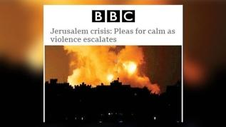 Dünya basını İsrail'i akladı Filistin'i suçladı