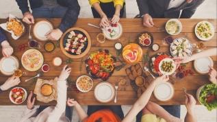 3 öğün yemek yemeye başlayın