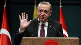"""Başkan Erdoğan'a destek mesajları: """"Milletin Adamı"""""""