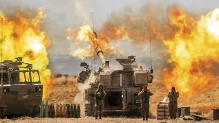 Gazze'ye vahşi saldırı