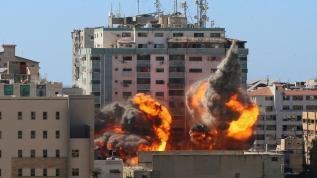 İşgalci İsrail saldırmaya devam ediyor! Şehit sayısı 149'a yükseldi