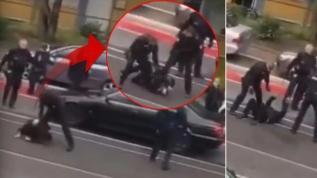 Alman polisinden skandal hareket! Türk vatandaşını darp ettiler