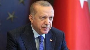 Başkan Erdoğan açıklama yapıyor
