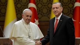 Başkan Erdoğan'dan Papa'ya Filistin mesajı