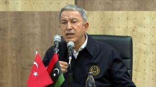 Bakan Akar'dan Libya açıklaması: Tehlike bitmiş değil