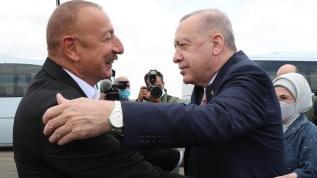Başkan Erdoğan Azerbaycan'da: Bir ilk gerçekleşti