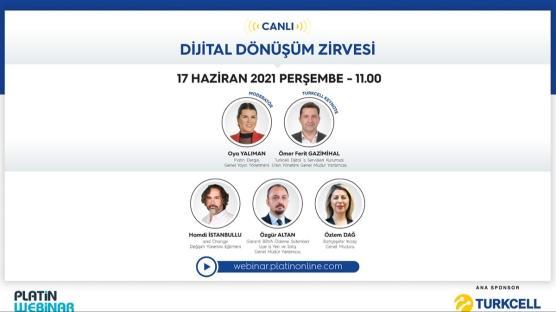 Turkcell sponsorluğunda 'Dijital Dönüşüm Zirvesi' gerçekleşecek