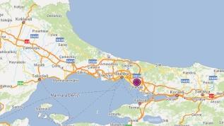 İstanbul Kartal'da 3,9 büyüklüğünde deprem