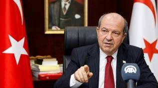 KKTC Cumhurbaşkanı Tatar'dan Atina'ya gönderme