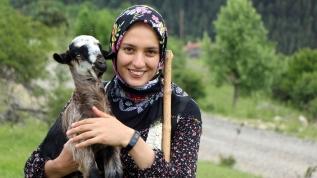 Çoban kız fenomen oldu
