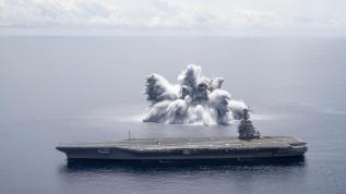 Dünyayı sarsan patlama! ABD'den savaş provası...