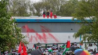İsrail'e ait İHA fabrikasında üretim durduruldu!