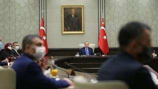 Kabine toplantısı sona erdi! Başkan Erdoğan açıklama yapıyor