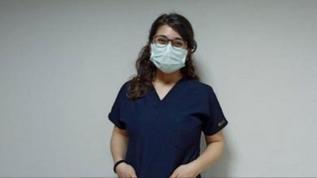 Bakan Koca, 1 milyonuncu aşıyı yapan Emine hemşirenin fotoğrafını paylaştı