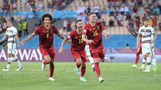 Hazard, Ronaldo'yu yendi: Belçika çeyrek finalde