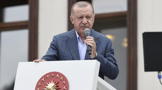 Başkan Erdoğan: Tehditlere boyun eğmeyiz