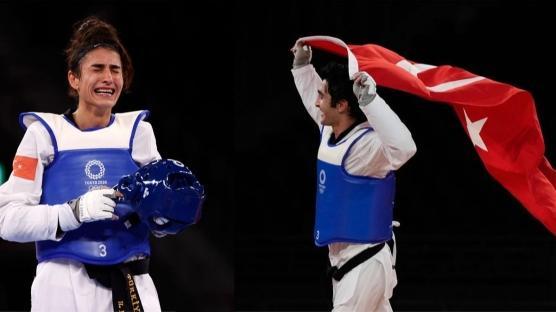 Olimpiyatları'ndaki ilk madalyalar geldi