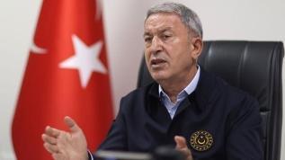 Bakan Akar: Şehitlerin kanı yerde kalmadı, 12 terörist etkisiz hale getirildi