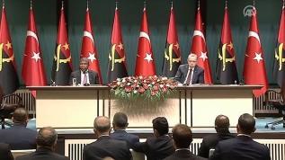 Başkan Erdoğan: Türkiye terörle mücadelede Angola'nın da yanında yer alacaktır