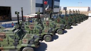 Türkiye'den dev zırhlı ihracatı