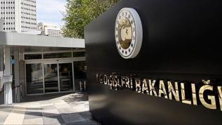 Dışişleri Bakanlığı: Kıbrıs Türk halkının iradesi yine yok sayıldı