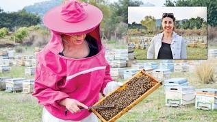 Pembe tulumla arı nöbeti