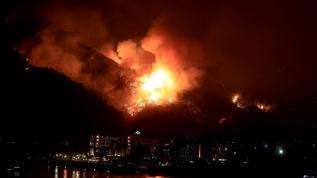 Yangınlarla ilgili çarpıcı açıklama