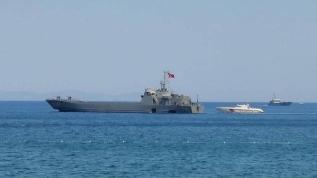 İki çıkarma gemisi Marmaris'e sevk edildi!