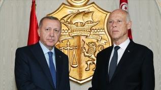 Başkan Erdoğan ile Tunus Cumhurbaşkanı Said telefonda görüştü