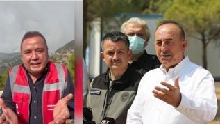 Çavuşoğlu'ndan Muhittin Böcek'e sitem: 'Panik yaratıyor'