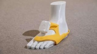 Görme engelliler için titreşimli ayakkabı