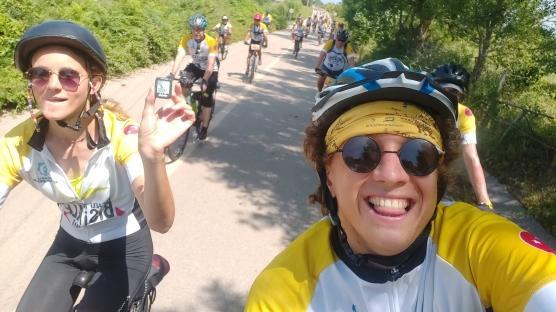 Hollanda'dan, Kandıra'ya bisikletle geldiler