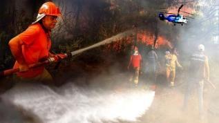 İletişim Başkanlığı yangınla mücadelede gelinen son durumu paylaştı