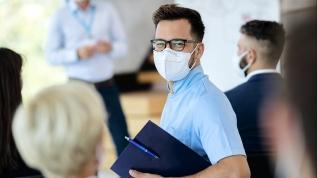 Solunum maskesi takmak daha korunaklı