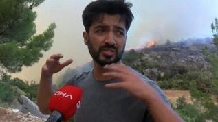 Şarkıcı Yusuf Güney yangın bölgesinde gözaltına alındı!