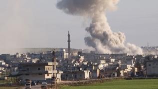 Esed rejimi güçlerinden camiye havan toplu saldırı