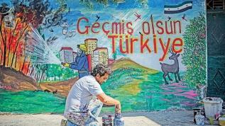 Suriyeli sanatçıdan Türk halkına destek