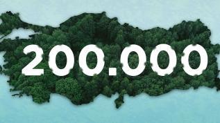 Türkiye Gençlik Vakfı yeşil bir Türkiye için 200 bin fidan bağışı yaptı
