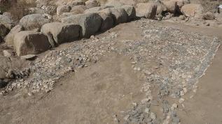 Uşaklı Höyük'te 3 bin 500 yıllık mozaik bulundu