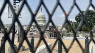 ABD Kongresi tekrar demir çitle çevrildi
