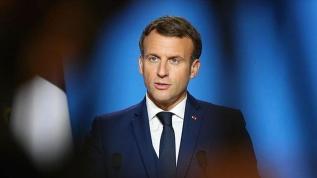 Macron'dan 'Taliban' açıklaması