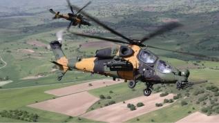 MSB: Atak helikopterleriyle 5 PKK'lı terörist etkisiz hale getirildi