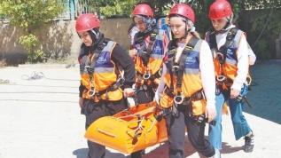 Gönüllü ordusu afetlere hazırlanıyor
